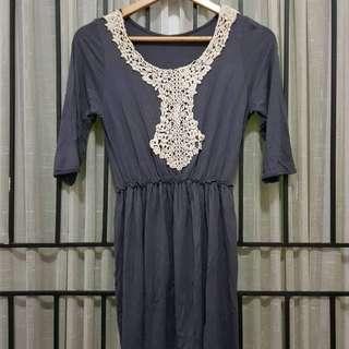 Midi / mini dress grey