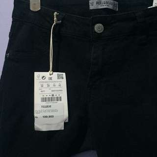 Pull And Bear Black Jeans