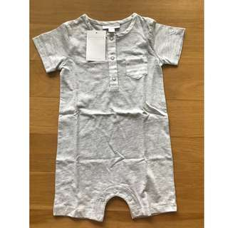 British designer label White Company baby romper short sleeve