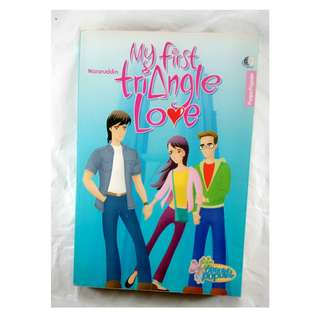 buku bekas my first triangle love