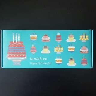 BNIB Innisfree Happy Birthday Kit