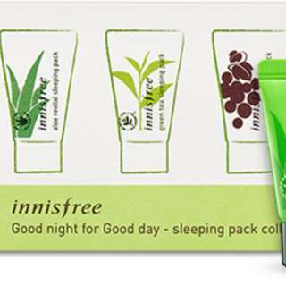 [AUTHENTIC] Innisfree good night for good day sleeping pack collection {BRAND NEW &UNUSED}