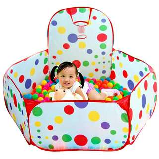 Indoor Kids Ocean Ball Pits Tent ❲Free 50pcs Balls❳