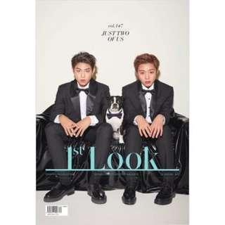 [MY.GO] 1st LOOK  WANNA ONE Park Ji-hoon Park Woo-jin Jan.2018