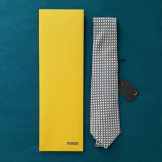 Fendi Small Logo Pattern Tie