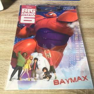 Big hero 6 BAYMAX clipboard