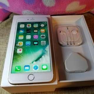Iphone6 plus 64gb 大金色