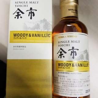 日版余市 Single Malt Woody & Vanillic