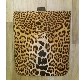 YSL Tablet Case - Leopard Fur