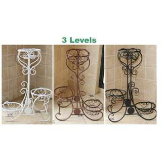 3 Level Metal Plant Stand