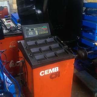 (蕭先生)CEMB C31 平衡機-中古平衡機