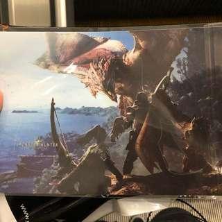 Monster hunter world PS4 controller skin decal