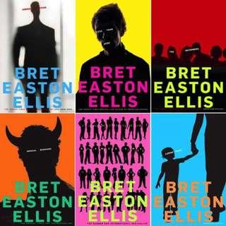 LOOKING FOR: BRET EASTON ELLIS BOOKS