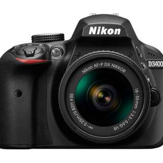 Nikon D3400 D5300 for Rent (Tags: DSLR Mirrorless Camera Lens Canon Sony)