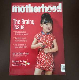 ✨FREE✨ Motherhood magazine