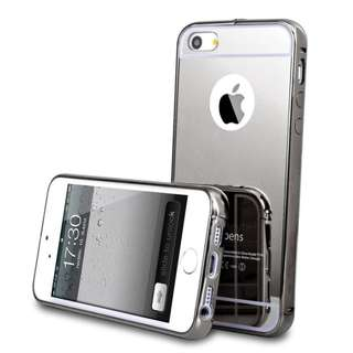 Bumper mirror case untuk Iphone 4 dan 5