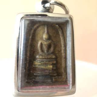 Thai amulet - somdej with takrut 3 Kings