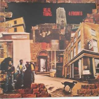 Real Thing 4 From 8 Vinyl LP Record
