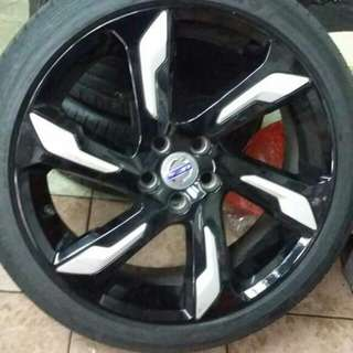 volvo v40cross country sport rim