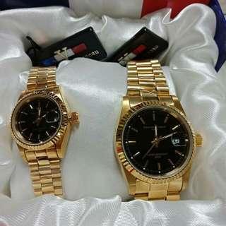 Authentic Valentino couple watch