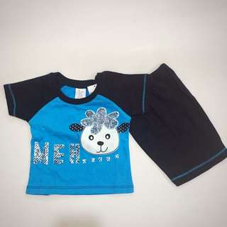 Baby Boy Cute Set Wear 224-0016
