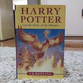 Harry Potter and the Order of the Phoenix (Hardbound)