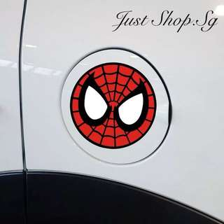 Spiderman Car Fuel Cover Decal / Sticker