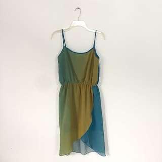 Party Gradient Color Dress