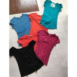 Tshirt 6 pcs