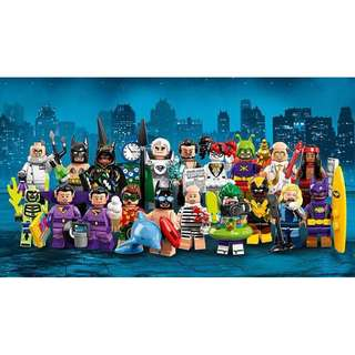 Leeogel [Free Postage] Lego Minifigures 71020 Batman Movie Series 2 set of 20 DC Super Heroes - Repacked