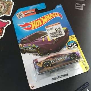 Dodge Challenger Hotwheels Car