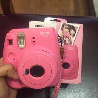 Instax Mini 9 Polaroid