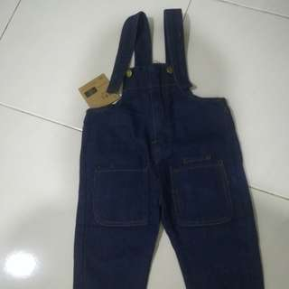Jeans jumper suit