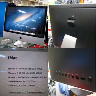 Apple iMac 24 3.06Ghz Nvidia Graphic 1TB $585
