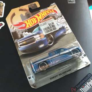 Chevy Silverado Hotwheels Car