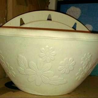 掛式花盆皿5入