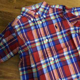 BN Authentic Ralph Lauren Boy Shirt