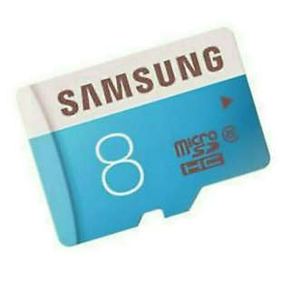 MEMORY CARD MICRO SD SAMSUNG 8GB