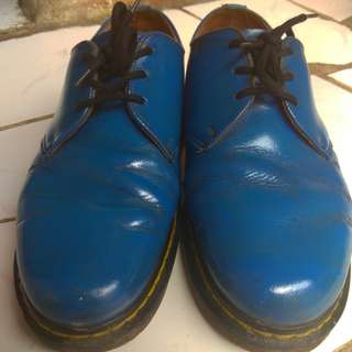 dr martens 1461 royal blue