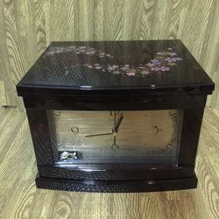 Clock and jewelry box from japan