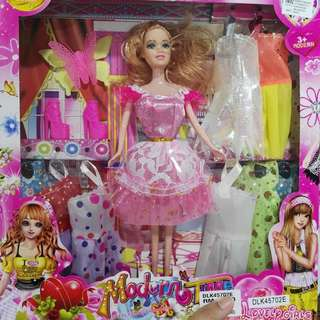Girl Doll Cloth Changing Toys