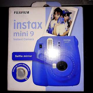 instax mini9 fujifilm instant camera