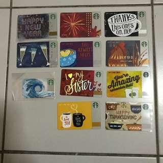 CLEARANCE SALES Starbucks card China
