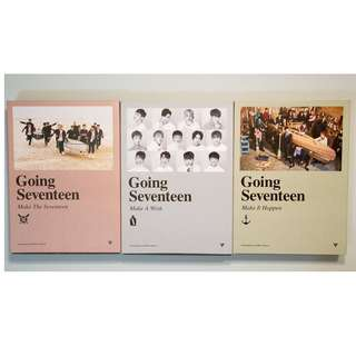 Seventeen Mini Album Vol. 3 - Going Seventeen