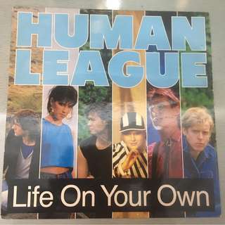 "Human League ‎– Life On Your Own, 12"" Single Vinyl, Virgin ‎– VS688-12, 1984, UK"