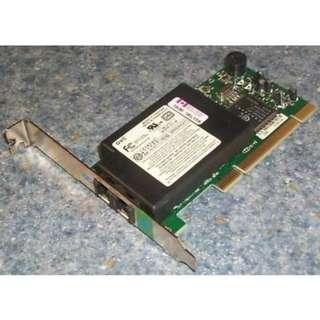 Genuine Dell F-1156IV/R9F PCI Fax/Modem Card High Profile 56K V90 079EKD