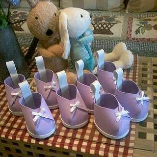 Gubahan hantaran. Gift idea for babyshower/cukur rambut.Baby shower door gift. ( min 30pcs )