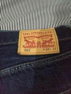 Levis 501 selvedge second