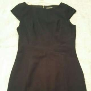 Size 12 NWOT Navy Shift Dress