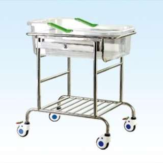 B36 Stainless Baby Bassinet
